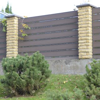 WPC board fence