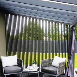 Terrace partition