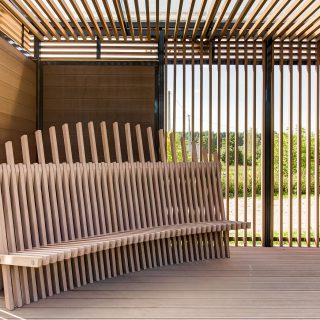 INOWOOD OUTDOOR FURNITURE OF BIOCOMPOSITE