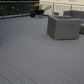 InoWood terrace in Switzerland